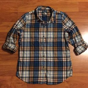The North Face Flannel Shirt Size Medium